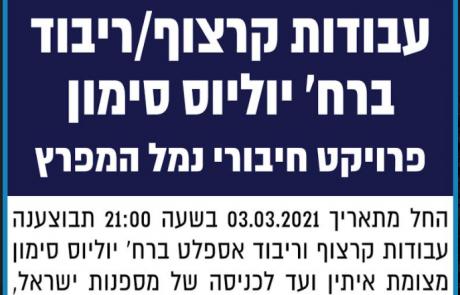 פרסום מודעה טכנית לחברת נמלי ישראל